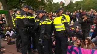 Dutzende Festnahmen bei Klima-Protesten