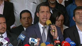 Venezuelan opposition leader Guaidó calls for peaceful demonstrations