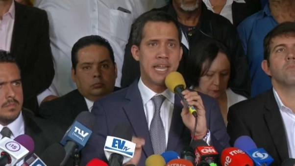 Venezuelan opposition leader Guaidó calls for peaceful demonstrations