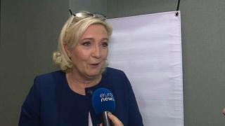 France's Le Pen sees far right gaining strength in European elections