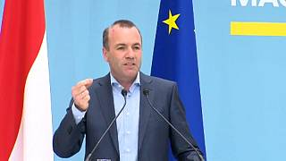EPP's Manfred Weber in Austria for rally ahead of European elections