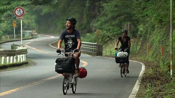 Biciklivel a rögbi világbajnokságon