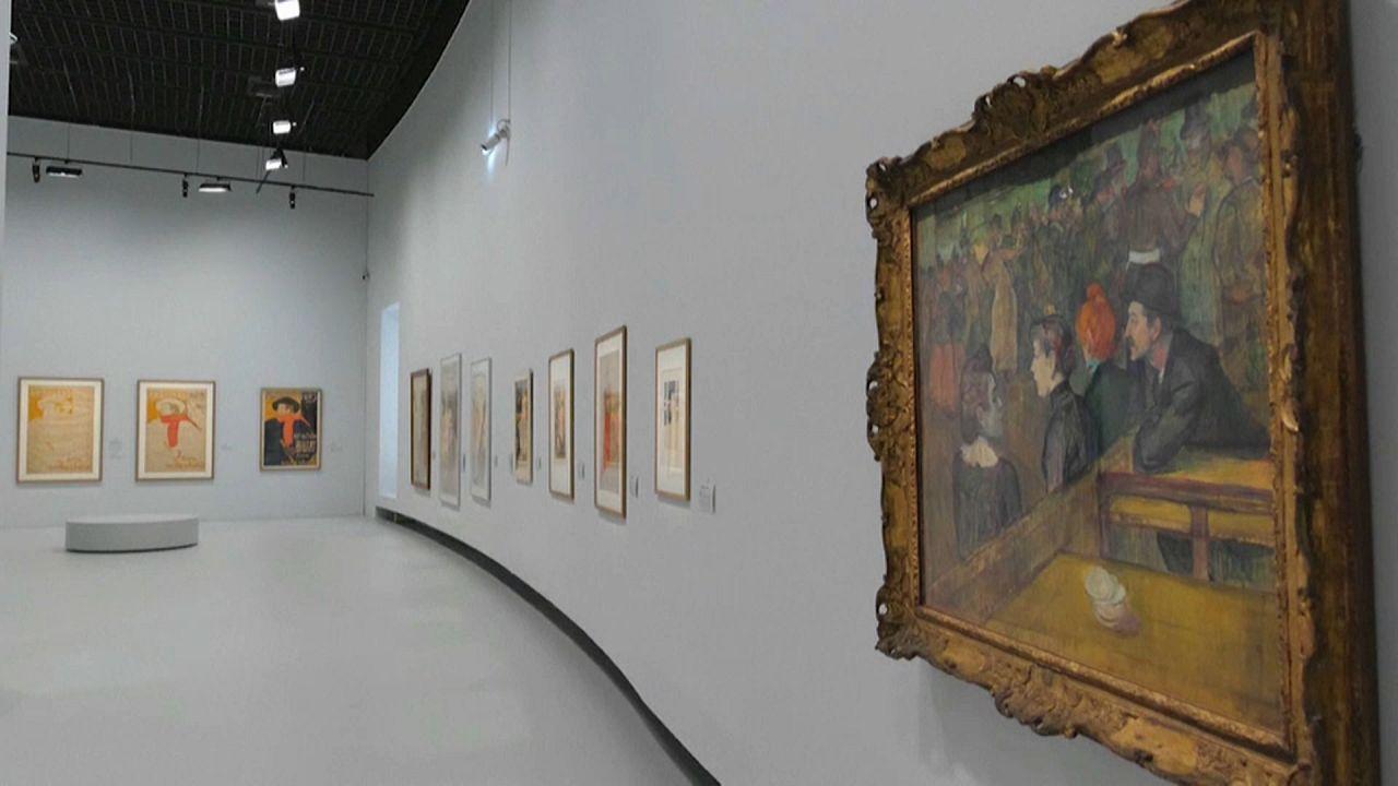Έκθεση με έργα του Τουλούζ-Λωτρέκ
