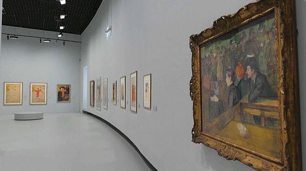 Retrospektív kiállítás Toulouse-Lautrec képeiből