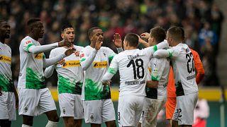 Il Borussia Monchengladbach è in testa alla Bundesliga.