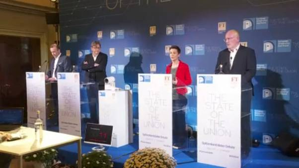 Candidates seeking to succeed Juncker as EC President outline EU vision