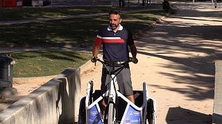 """Triciclo Benur adaptado a cadeira de rodas: """"a mobilidade é essencial"""""""