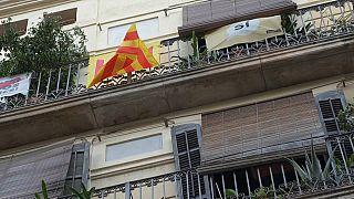 À Barcelone, la guerre des drapeaux fait rage