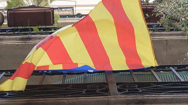 A guerra de bandeiras em Barcelona