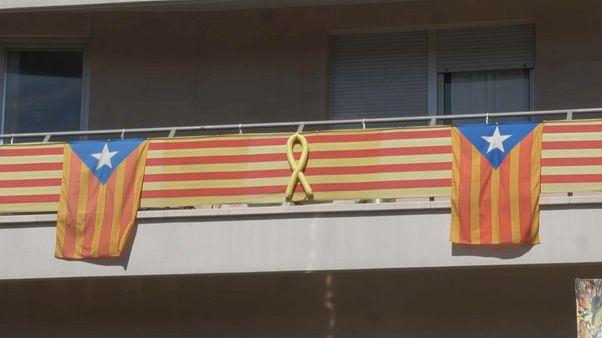 В Барселоне разразилась война флагов