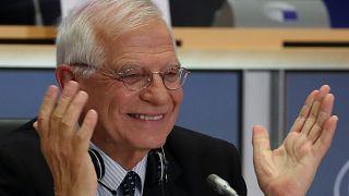 Josep Borrell, examinado por el Parlamento Europeo