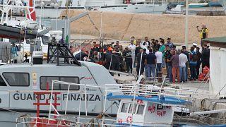 У берегов Италии погибли мигранты