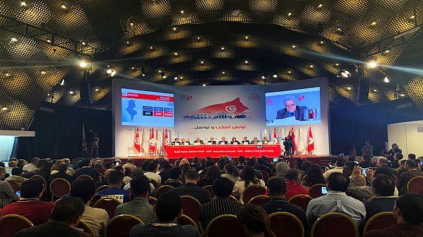 الهيئة العليا المستقلة للانتخابات تعلن نتائج الانتخابات التشريعية في تونس - 2019/10/9. رويترز