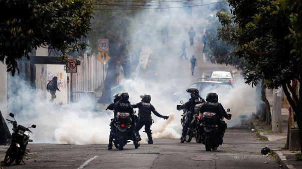 Ekvador'da kemer sıkma politikalarına yerli halkın protestoları 5. gününde: 477 kişi gözaltında