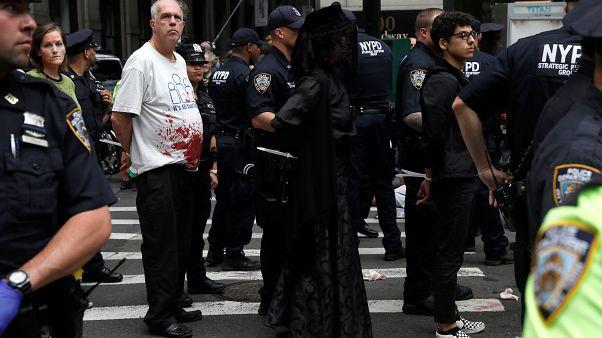 Las protestas mundiales de Extinction Rebellion se saldan con cientos de detenidos