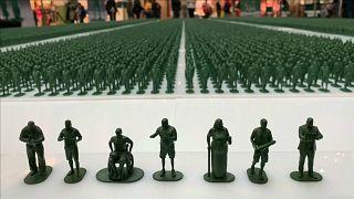 معرض لمجسّمات صغيرة تعكس معاناة معطوبي الحرب من قدماء الجنود البريطانيين