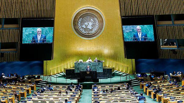 الجمعية العامة للأمم المتحدة في مدينة نيويورك- أرشيف رويترز