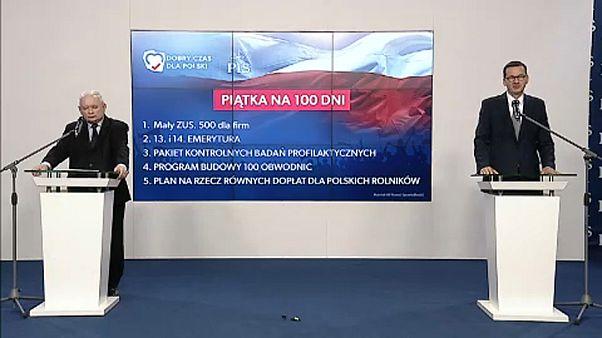 Jóléti intézkedéseket ígér a lengyel kormánypárt