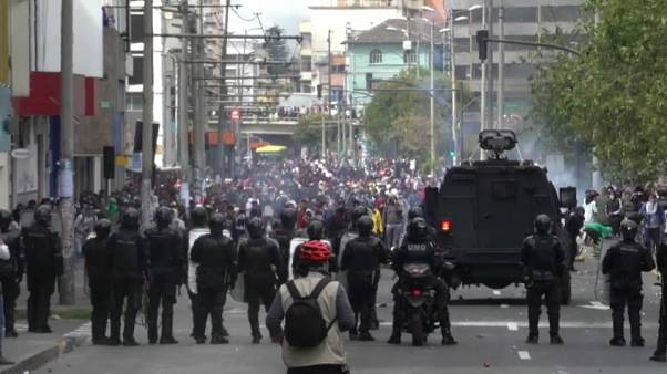 La rivolta in Ecuador insiste contro il caro-carburante