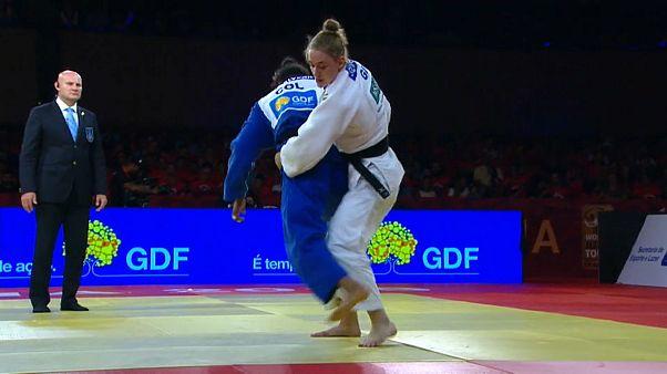 La colombiana Yuri Alvear gana el oro en el Grand Slam de Brasilia