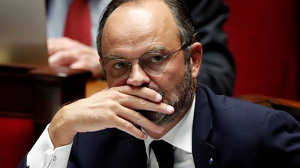 French Prime Minister Edouard Philippe attends a debate on migration at the National Assembly in Paris, France, October 7, 2019.