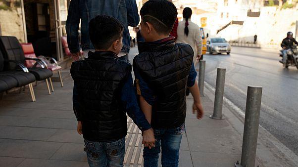 أطفال سوريون أزمير  تركيا- أرشيف رويترز