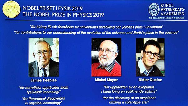 Le Nobel de physique 2019 attribué à trois cosmologues