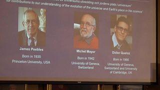 Physik-Nobelpreis 2019 geht an einen Kanadier und zwei Schweizer