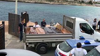 Kaum Hoffnung für 15 Vermisste vor Lampedusa