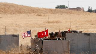 قوات أميركية وتركية خلال دورية مشتركة (أرشيف)