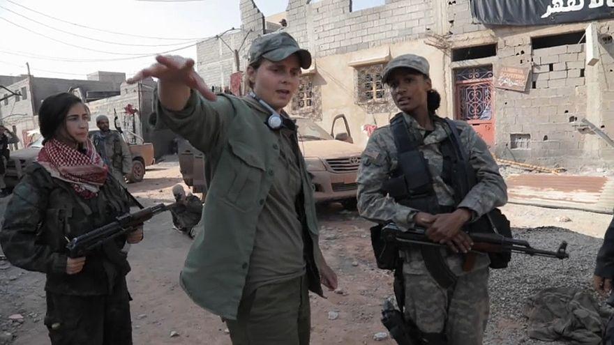 Az Iszlám Állam ellen harcoló nőkről szól egy új film