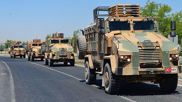Suriye sınırına roketatar sistemleri yerleştirildi