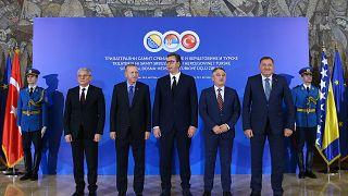 Tarihi 'Bosna-Türkiye-Sırbistan 3'lü Balkan Zirvesi' başladı