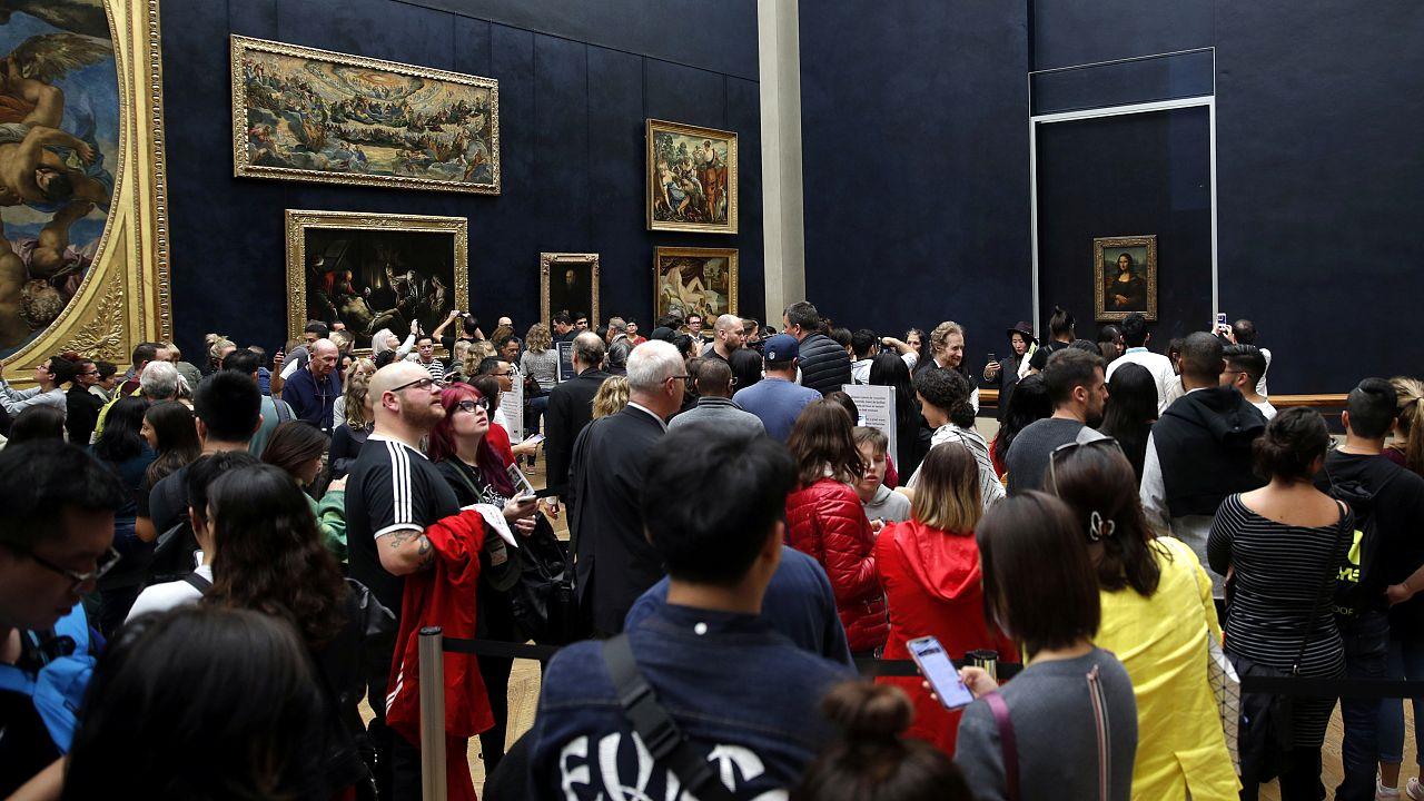 Mona Lisa retrouve son emplacement au musée du Louvre