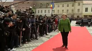 European leaders aim to project unity at informal EU summit in Romania