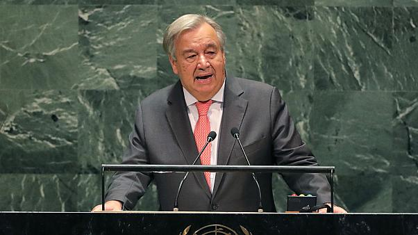 United Nations could run out of money by end of this month, says Secretary-General Antonio Guterres