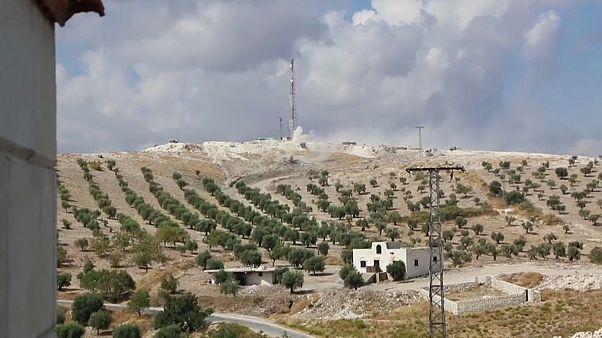 TSK'dan YPG'ye mühimmat takviyesini engellemek için Irak Suriye sınırında saldırı