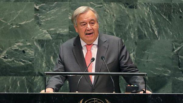 L'Onu potrebbe finire i soldi a fine mese, dice il segretario generale Guterres
