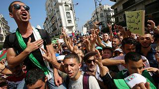 صورة أرشيفية لمظاهرة في الجزائر