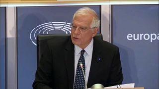 La Eurocámara aprueba a Josep Borrell como jefe de la diplomacia europea