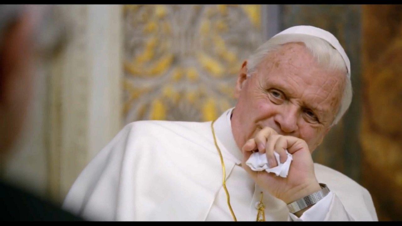 """Francisco e Bento XVI em """"Dois Papas"""""""
