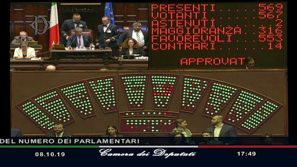 Italia aprueba la ley que reduce el número de parlamentarios