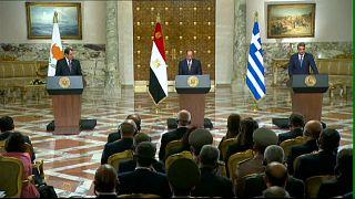 """قبرص واليونان ومصر يطالبون تركيا بإنهاء أعمالها """"الإستفزازية"""" في شرق المتوسط"""
