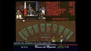 Votação na Câmara Baixa do Parlamento