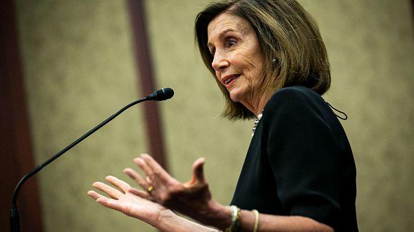 الرئيسة الديمقراطيّة لمجلس النوّاب الأمريكي، نانسي بيلوسي