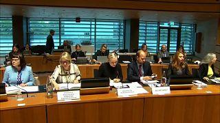 من اجتماع وزراء داخلية الاتحاد الأوروبي في لكسمبورغ أمس
