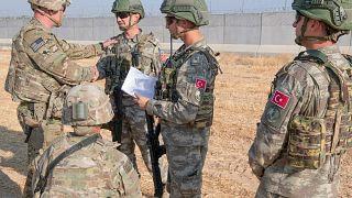 الجيش التركي والجيش الأمريكي في شرق سوريا