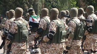 قوات الجيش السوري الحر خلال التدريبات  أكتوبر/ تشرين الأول 2019