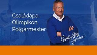 Borkai Zsolt kampányplakátja