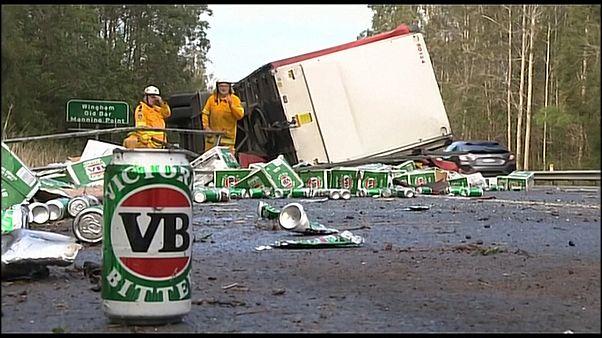 Пробка из-за пива